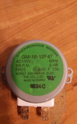 Whirlpool Microwave Turntable Synchronous Motor 8183954 GM-16-12F47 • 8.88£