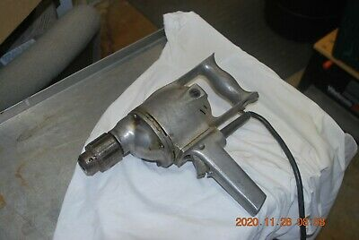 "View Details HEAVY Vintage Electric Drill Motor 1/2"" Chuck With Key • 30.00$"