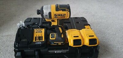 Dewalt 18v Impact Driver DCF888 Bluetooth With 2x 18v 2ah Batteries And Charger  • 100£