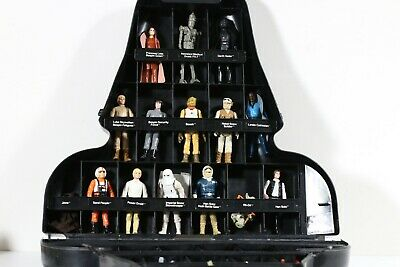 $ CDN258.21 • Buy VINTAGE Kenner Star Wars Lot Of Action Figures With Weapons, Darth Vader Case