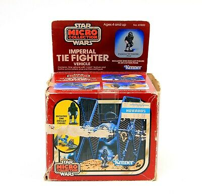 $ CDN90.82 • Buy Vintage Kenner Star Wars Micro Collection Imperial Tie Fighter 1983 W/ Box