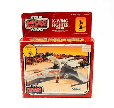 $ CDN77.84 • Buy Vintage Kenner Star Wars Micro Collection X-Wing Fighter & Pilot W/ Original Box