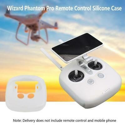 AU12.50 • Buy Silicone Protective Case Clear Cover Skin For DJI Phantom 4 Pro Remote Control
