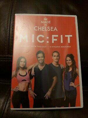 Made In Chelsea: MIC - FIT [DVD] OFFICIAL WORK OUT KEEP FIT Exercise Routine • 0.99£