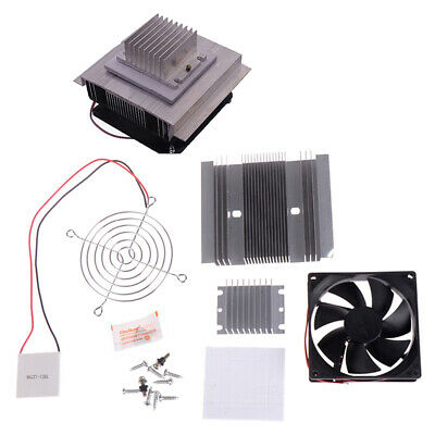 £12.40 • Buy 60W TEC1-12706 Thermoelectric Peltier Module Water Cooler Cooling System MC_hg