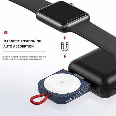 $ CDN18.47 • Buy Magnetic Charger Portable Wireless Adapter For Apple Watch Series 1/2/3/4/5