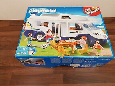 Playmobil 4859 Camper Van Motor Home Figures And Accessories Very Good Condition • 3.90£