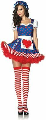 £9.99 • Buy Leg Avenue Darling Dollie Sexy Fancy Dress Costume Cosplay, Various Sizes, New