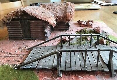 28mm American Civil War Thatched Cottage By Dave Marshall Of TM Terrain • 29£