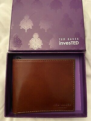 Brand New TED BAKER Invested Wallet • 25£