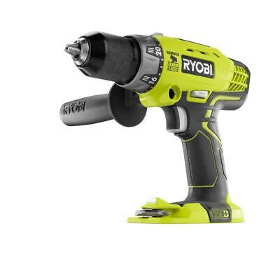 Ryobi P214 - 18-Volt ONE+ Cordless 1/2 In. Hammer Drill/Driver With Handle • 26.98£
