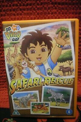 Go Diego Go..safari Rescue Dvd • 0.99£