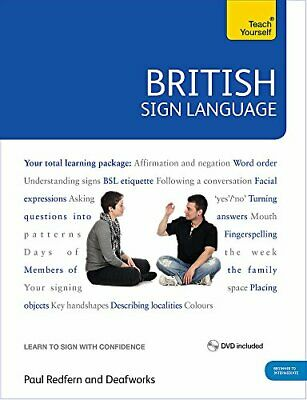 £29.99 • Buy British Sign Language: Teach Yourself: Book And DVD Pack By Redfern, Paul Book