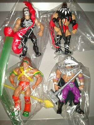 $129.99 • Buy Masters Of The WWE Universe Series 1 Set Cena Figure Lot Sting Ultimate Warrior