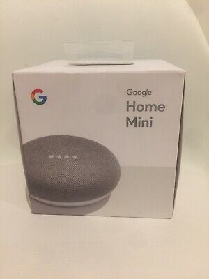AU37 • Buy Google Home Mini Smart Assistant - Chalk New In Box Sealed
