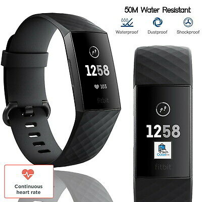 View Details Fitbit Charge 3 Advance Edition Fitness Activity Wrist Tracker Water Resistant • 49.99£