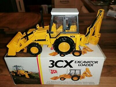 NZG2771 1:35 JCB 3CX Loader   Excavator DieCast Model Boxed Rare Early Version • 155£