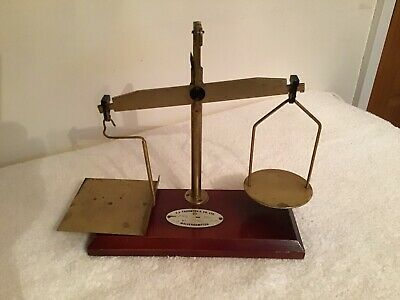 Antique Post Office Airmail Scales • 12£