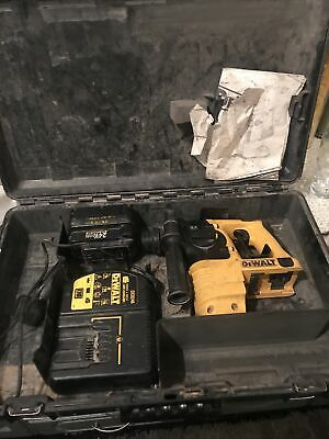 Dewalt Dc223 24v Cordless Hammer Drill AND DE0246 CHARGER Air Cooled Battery  • 10£