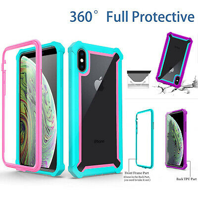 AU9.95 • Buy For IPhone SE 8 7 6s Plus XR XS 12 11 Pro Max Case Rugged Heavy Duty Full Cover