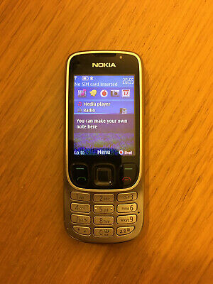 Nokia Classic 6303 - Silver - In Original Box With Accessories + Manual • 5£