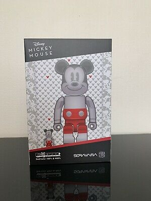 $380 • Buy BEARBRICK FUTURE MICKEY MOUSE 2nd COLOR 100%400% *IN HAND*