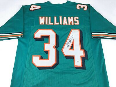 $ CDN100.24 • Buy Ricky Williams Signed Autographed Football Jersey JSA COA Miami Dolphins Great
