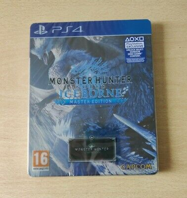 AU89.67 • Buy PS4 Monster Hunter World Iceborne Master Ed.playstation 4 Italian Sealed New