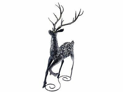 £199.99 • Buy Metal Decorative Sculpture For Home Or Garden - Large Standing Stag