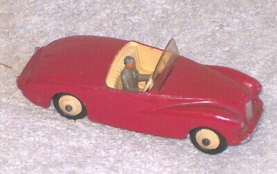 Dinky No.101,Sunbeam Alpine Touring Car, Cherry Red , Excellent Original & Boxed • 75£