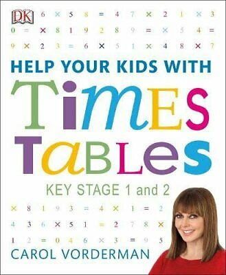£6.47 • Buy Help Your Kids With Times Tables By Carol Vorderman New Book