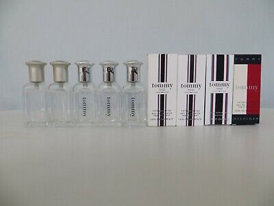 5 X Collection Of Empty   Used Tommy Hilfiger Aftershave   Cologne Bottles • 5.50£
