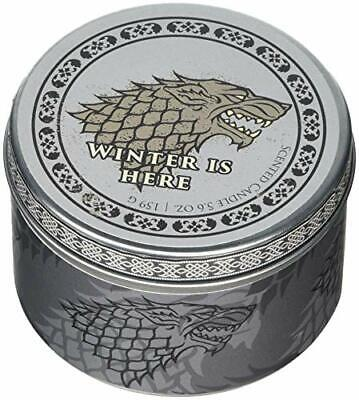 Game Of Thrones: House Stark Scented Candle: 5.6 Oz: Large   New Loose Leaf Book • 9.81£