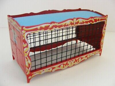 CORGI 1/50th SCALE LION CAGES/CONTAINERS CHIPPERFIELDS CIRCUS COLORS • 6£