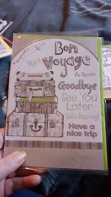 Bon Voyage Card New In Wrapper  • 0.99£