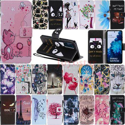 $ CDN9.56 • Buy For Samsung S20 FE S10 S10e S9 S8 S7 Flip Wallet Card Holder Leather Case Cover