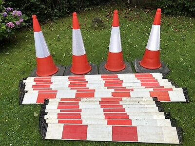 Road Cones And Pedestrian Barriers, Safety Cones • 70£