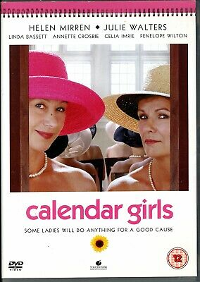 Calendar Girls Helen Mirren Julie Walters.region 2 Dvd.free Uk P&p • 1.99£