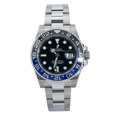$ CDN20323.24 • Buy Rolex GMT Master II 116710BLNR Batman Mens Watch Box & 2016 Paper 40MM