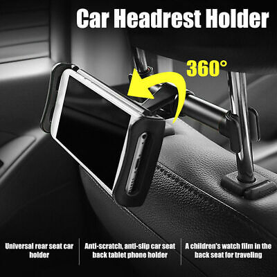 Universal Car Tablet Holder Headrest Seat Mount Stand For 4.7''-13'' IPad /Phone • 6.89£