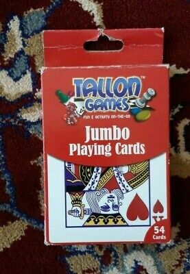 Tallon Games Pack Of  Jumbo Playing Cards (54 Cards) • 1.50£