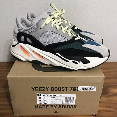 $ CDN529.80 • Buy Adidas Yeezy Boost 700 Wave Runner Solid Grey /Chalk White (B75571). Size 10