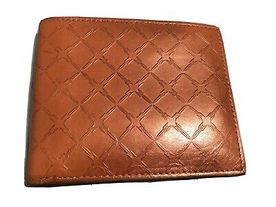 $34.99 • Buy Fossil Men's Bifold Brown Leather Wallet