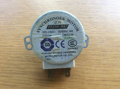 Microwave Turntable Synchronous Motor TYJ50-8A7, Panasonic Neff Sanyo • 14.99£