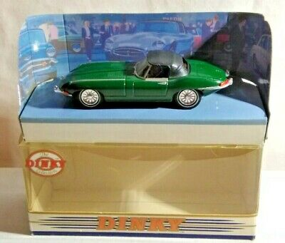 Matchbox The Dinky Collection 1:43 Scale 1968 Jaguar E Type Mk. 1.5 Green - Dy-1 • 4.50£