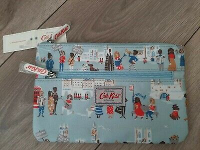 Cath Kidston Double Zip Pencil Case/Make Up Bag.... London People.....BNWT  • 9.99£