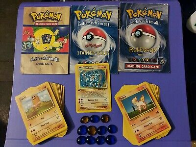 Pokémon Cards 2 Player Starter Set 1999 No Box All Cards And Rule Books • 15£