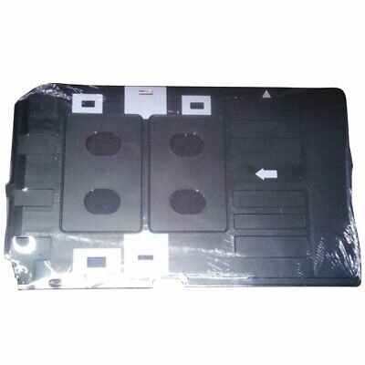 £7.19 • Buy PVC ID Card Tray Plastic Card Printing Tray For Epson Type A Printer Plate @@