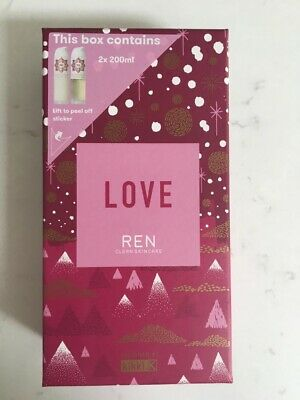 £32 • Buy BRAND NEW REN Moroccan Rose Otto Body Wash And Body Lotion Gift Set (2x200ml)