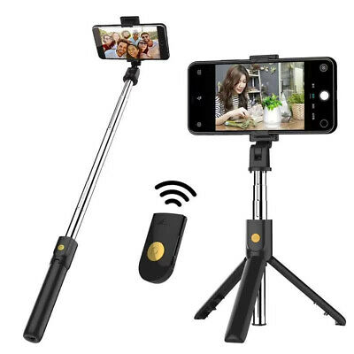 AU5.99 • Buy Selfie Stick Integrated Tripod With Bluetooth Remote For Android And IPhone